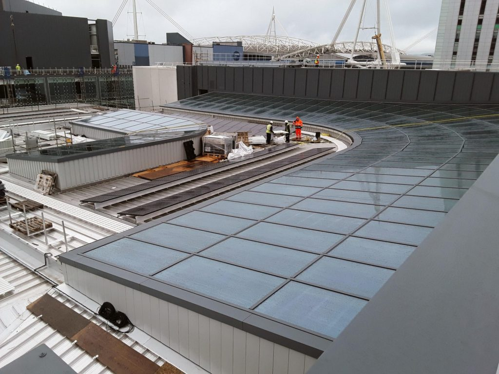 BBC Cardiff - Mono-pitch Rooflight