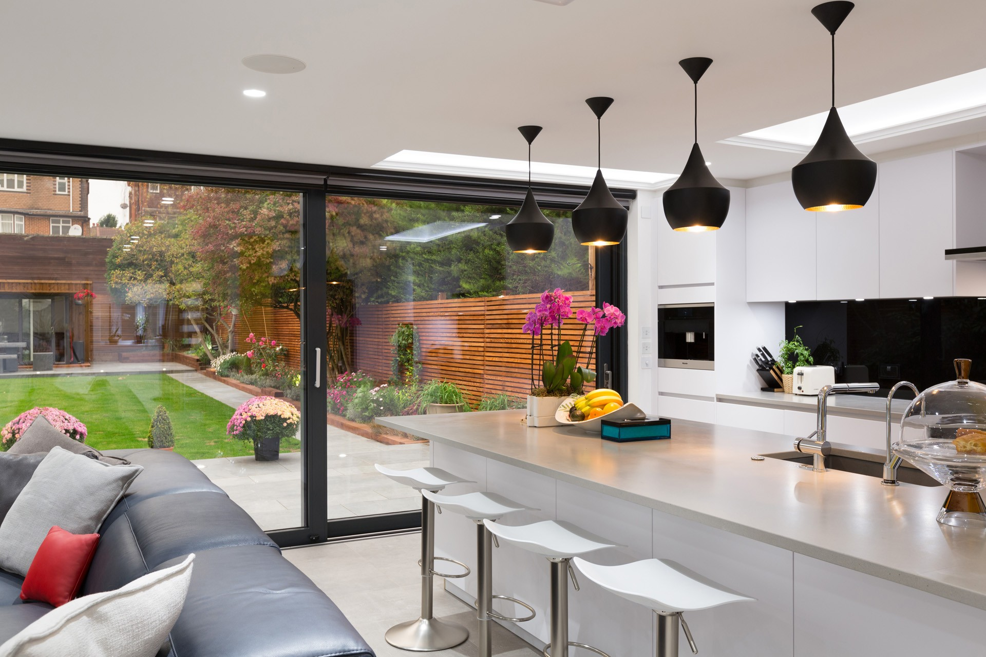 Fixed Flatglass Rooflights - Private Residence