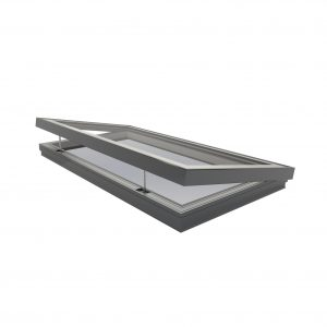 Hinged Flatglass Rooflight