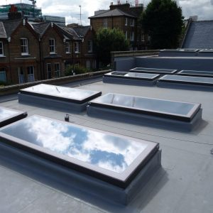 Fixed Flat Glass Rooflights