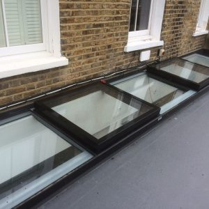 Multi-section Flatglass