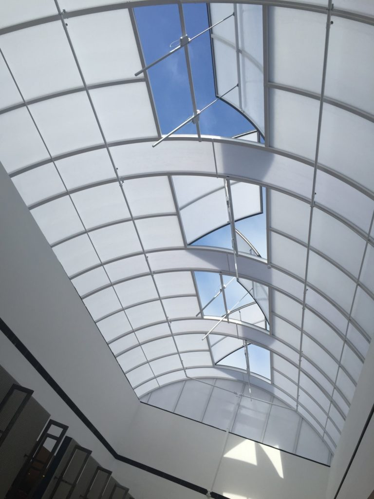 Solis Barrel Vault Rooflight, AOV Smoke Vent - White Rose Shopping Centre, Leeds
