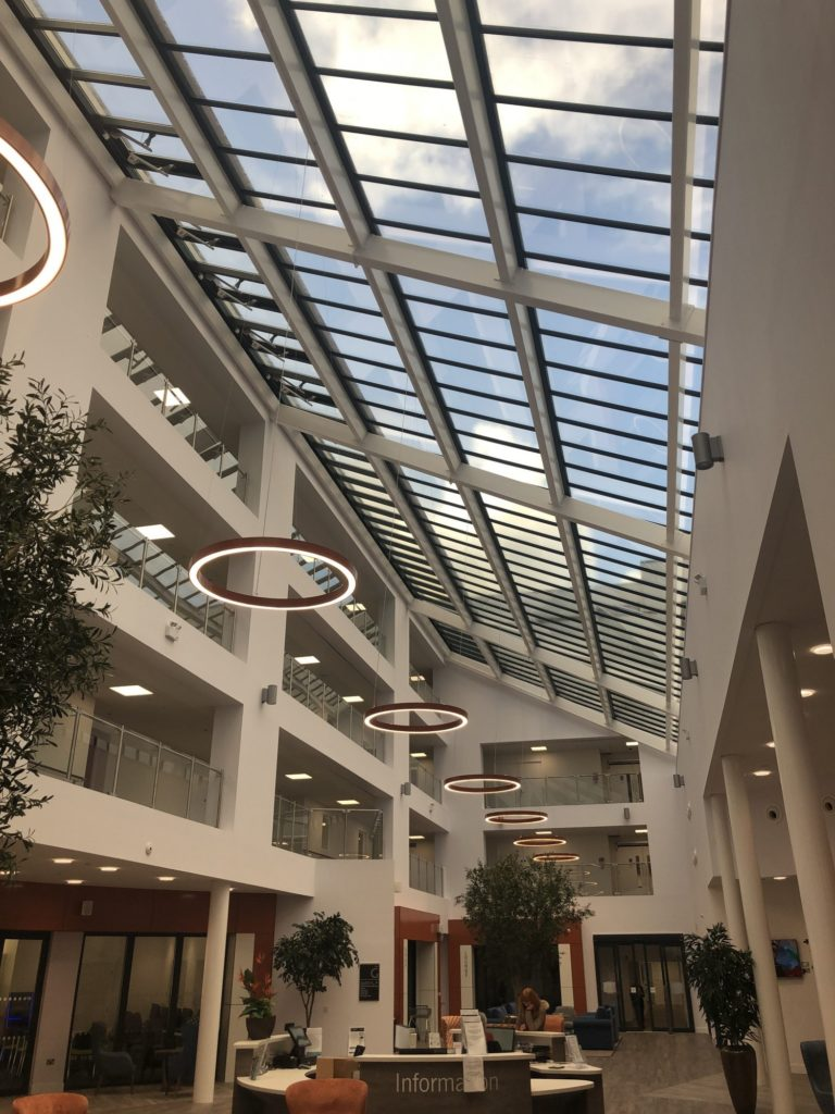 ECCT Stoke Gifford Retirement Village - Monopitch Rooflight