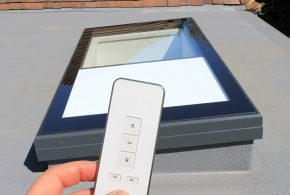 Integral Electric Rooflights Blinds