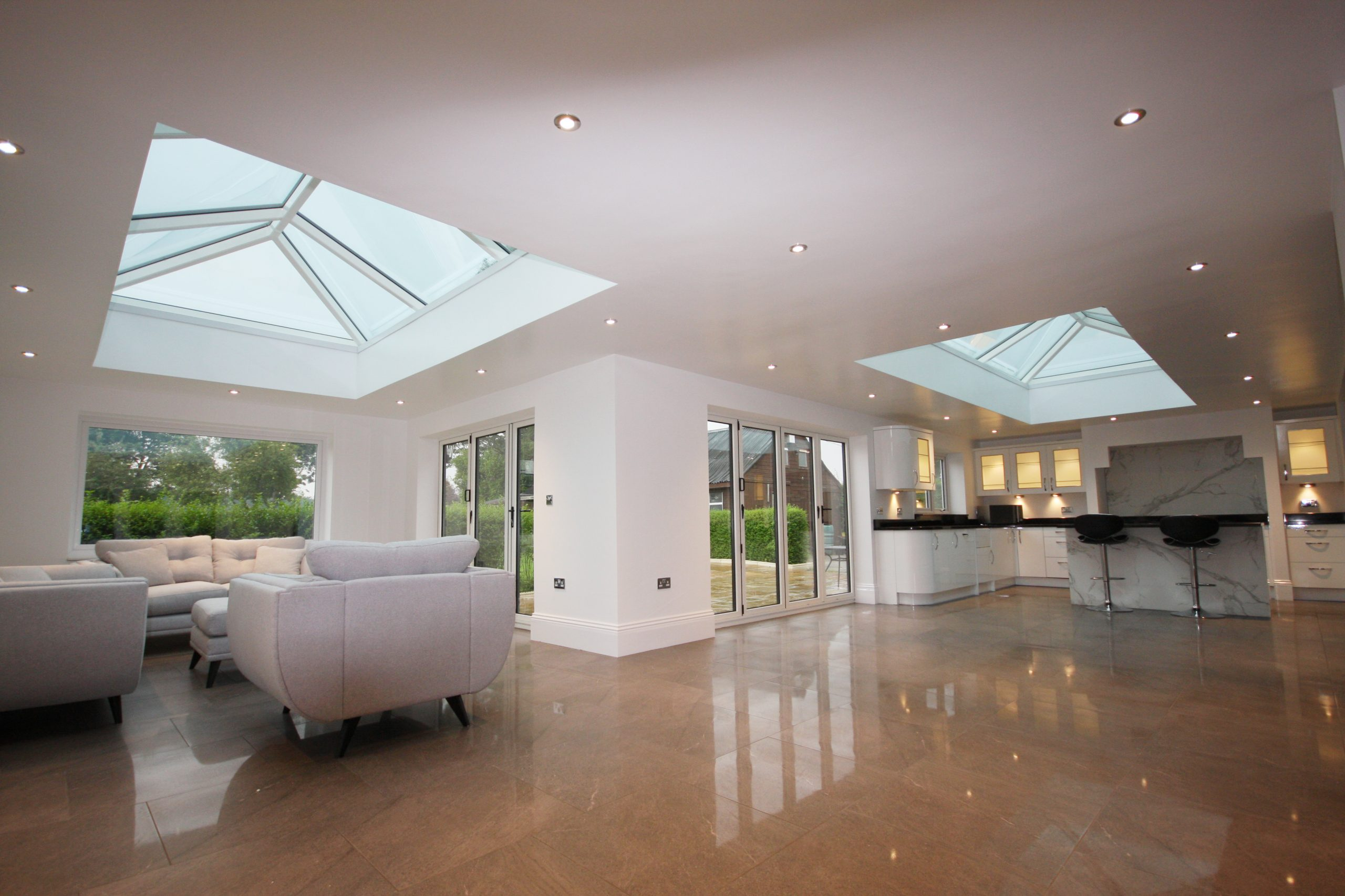 korniche glass roof lanterns