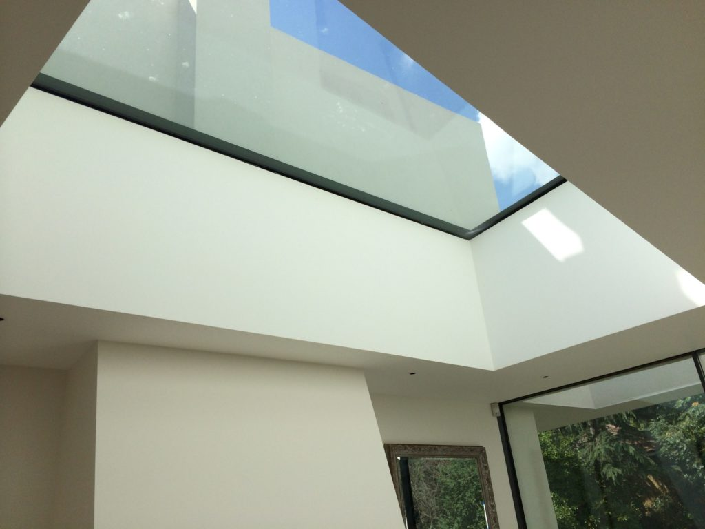 Fixed Flatglass Roofglaze
