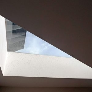 Bespoke Triangular Flatglass Rooflight - Private Residence, Wells (Batterham Matthews Architects)