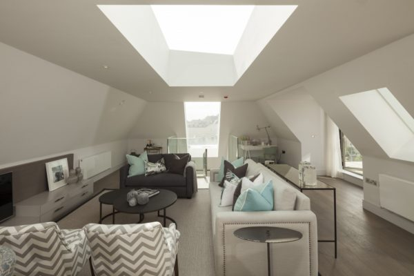 Fixed Flat Glass Rooflights - Brentford Magistrate's Court Residential Development