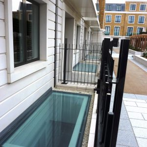 Bespoke Walk-on Flatglass Rooflight - 101 Farm Lane, Fulham