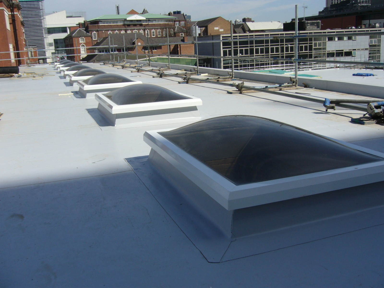Dome Rooflights Incl Pvcu Upstand Roofglaze Dome