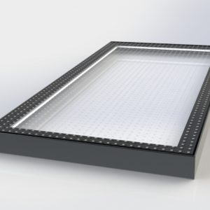 Fixed Walk-on Flatglass Rooflight