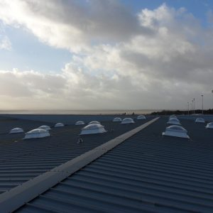 Flat Roof Dome Rooflights