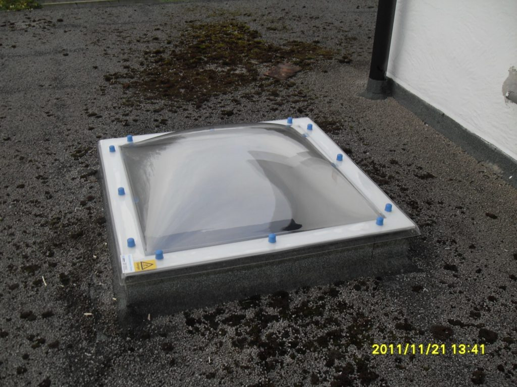 Refurbishment Dome Rooflights