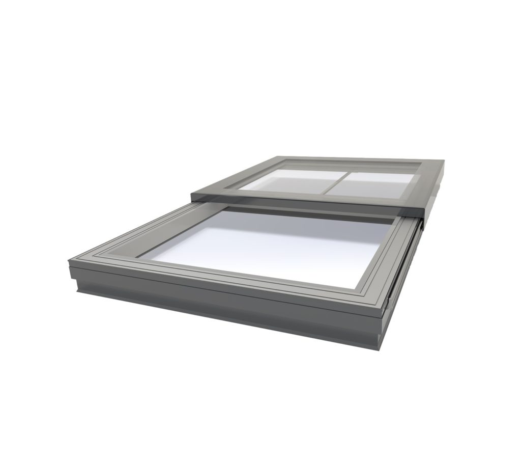 Sliding Flatglass Rooflight