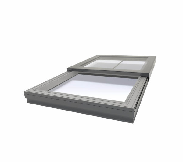 24v Electric Sliding Flat Glass Rooflight