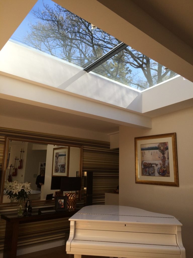 Stream House - Multi-section Flatglass Rooflight