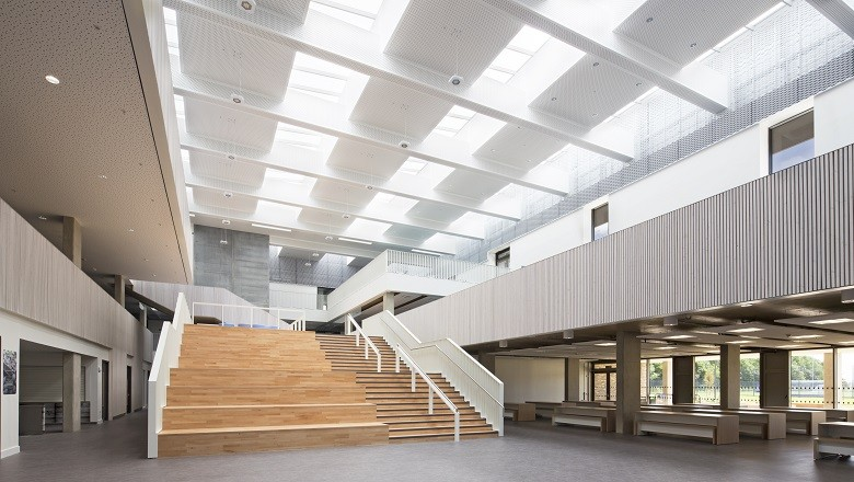 VELUX Modular Skylights Installed by Roofglaze at Trumpington Community College, Cambridge
