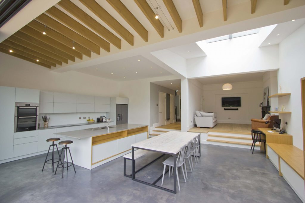 Multi-section Flat Glass Rooflight - Private Residence, London