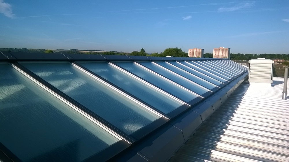Ridgelight Rooflights Roofglaze
