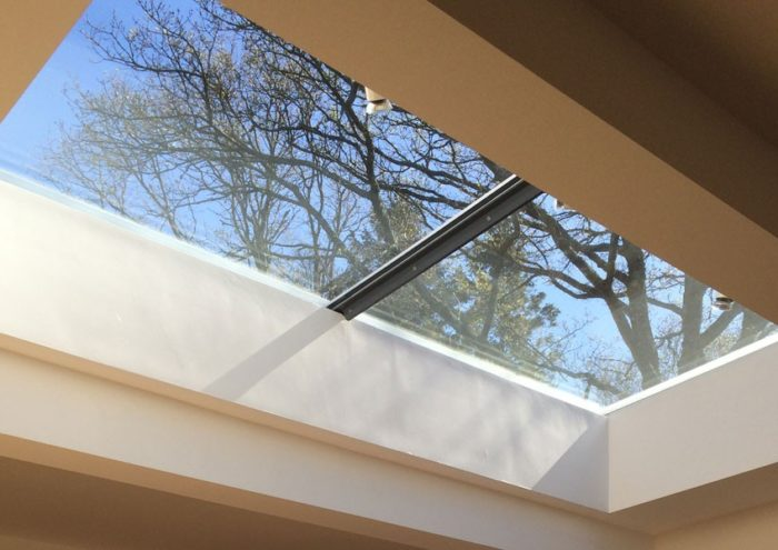 Multi Section Flat Glass Rooflight